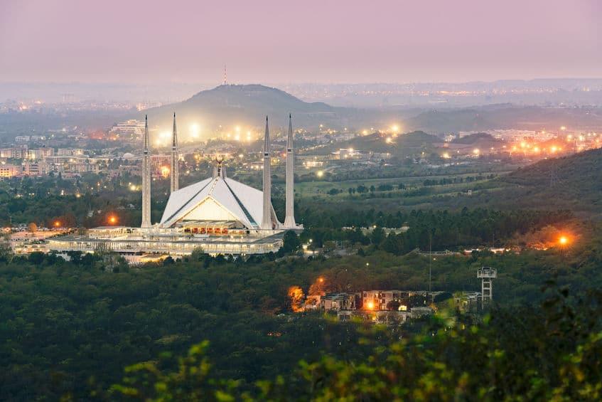 Mesquita Faisal em Islamabad