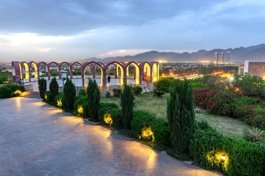 Monumento do Paquistão em Islamabad