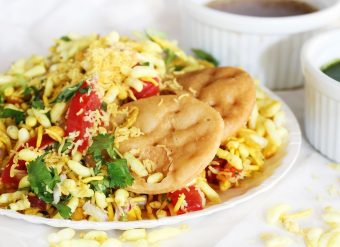 Chaat comida paquistanesa