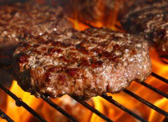 Chapli kabab comida paquistanesa