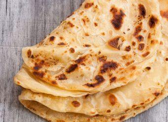 Paratha comida paquistanesa