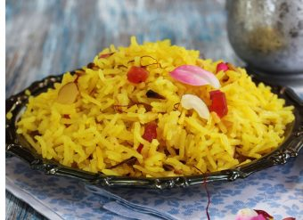 Zarda comida paquistanesa